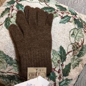 Accessories - Alpaca gloves, 80% alpaca, 20% nylon